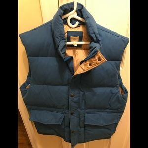 Lands End men's ski vest